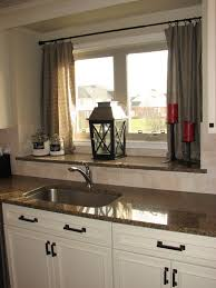 Curtains For Kitchen Window Above Sink Life On Nickelby Diy Kitchen Curtains