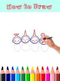 draw teletubbies apk download free art u0026 design app