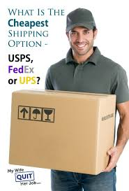 what is the cheapest shipping option u2013 usps fedex or ups