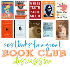 best books for a great book club discussion book clubs books