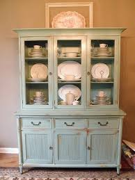Glass Display Cabinet Craigslist Kitchen Brilliant Painting Our China Cabinet Olgas Flavor Factory