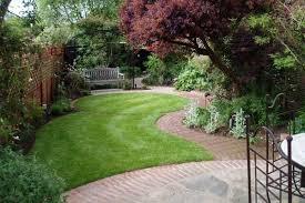 fine looking garden paving small gardens great small garden