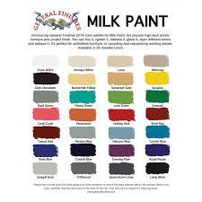 finishes milk paint brick red quart pint