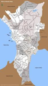 Map Of Phillipines Manila Map