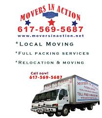 Relocation Estimate by Local Movers South And Shore Boston Ma Local And