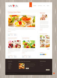 cocktail recipes book website template 45581 savour cookery book custom website