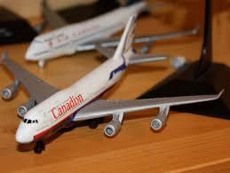air canada airport playset air canada a340 and 747 400 united