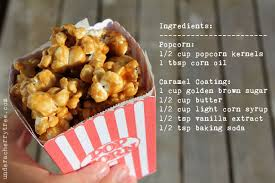 under a cherry tree how to make the perfect caramel popcorn