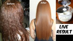 hair rebonding at home permanent hair straightening at home which is as good as keratin and