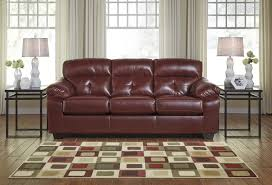 Cheap Red Leather Sofas by Bastrop Red Leather Sofa Bed Steal A Sofa Furniture Outlet Los