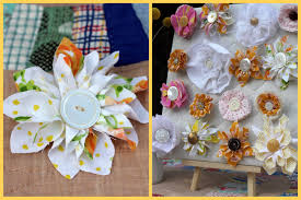 fabric flowers 49 fabulous fabric flower tutorials