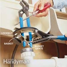 How To Replace A Kitchen Sink Basket Strainer Family Handyman - Kitchen sink basket strainer plug