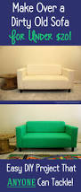 how to easily make over a sofa with paint happiness is homemade