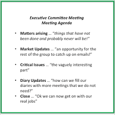 Business Meeting Agenda Template Word by Meeting Agenda U0027s 10 Tips To Make Them Work Mary Clare Tomes