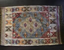 star of the east custom made kilim ottoman