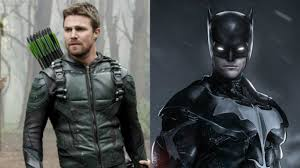 this is what robbie amell could look like as batman in an arrow movie