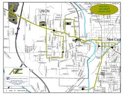 Route 40 Map by Wal Mart Union Township U2013 Route 3 New Castle Area Transit Authority