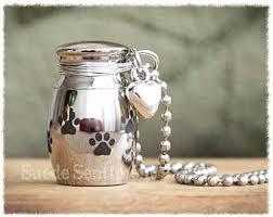 dog cremation pet urn necklace etsy