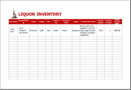 Restaurant Inventory Spreadsheet by 25 Inventory Spreadsheet Templates For Everyone Templateinn