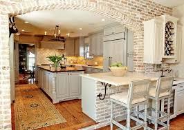 brick kitchen ideas 75 creative exposed brick kitchen ideas