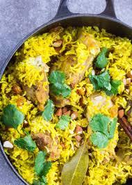 biryani cuisine stovetop chicken biryani indian chicken with rice simplyrecipes com