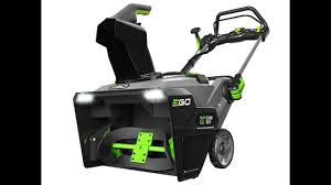 snow blowers black friday ego snow blower review youtube