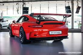 porsche 911 gt3 rs 2015 porsche 911 gt3 rs now in malaysia all 17 units accounted for