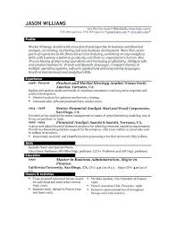 No Resume Jobs Resume Examples Of Resumes For Jobs With No Experience The Best