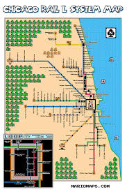 Chicago Maps by Super Mario U0026 Zelda Chicago L Maps