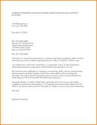 company internship letter format choice image letter samples format