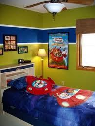 Candlelight Homes Utah Bedroom Kids Room Tan Carpet Orange - Childrens bedroom painting ideas