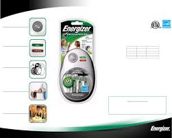 energizer battery charger chfm8 user guide manualsonline com