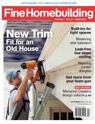 finehomebuilding com fine homebuilding 269 preview calameo downloader