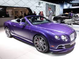 bentley purple the most amazing cars we saw at the 2016 detroit auto show