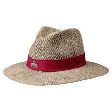 ohio state alumni hat state buckeyes hat nike summer straw hat
