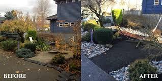 project spotlight drainage system solution dennis u0027 7 dees