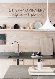 Plywood How To Create A Stunning Kitchen With Plywood 12 Inspiring Ideas