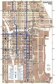 Downtown Chicago Map Chicago U0027 U0027l U0027 U0027 Org System Maps Route Maps