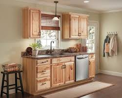 menards value choice cabinets value choice 18 thunder bay hickory standard height wall cabinet at