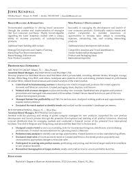 Marketing Manager Sample Resume by Example Marketing Cover Letter Best Resume Gallery