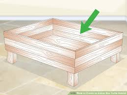 how to create an indoor box turtle habitat with pictures