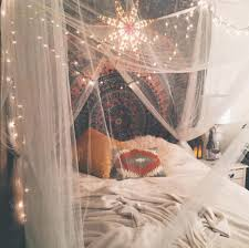 Lights Room Decor by Instagram B Ridgette Boho Bohemian Cute Bedroom Ideas Decor