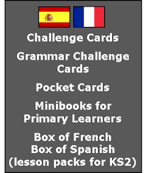 primary spanish resources