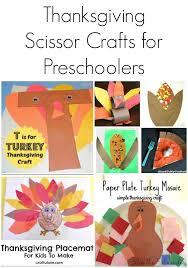 thanksgiving scissor crafts for preschoolers stir the