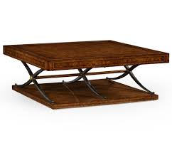 square stone coffee table furniture luxury antique stained wood square coffee table design