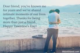 our s day together valentines day messages for friends