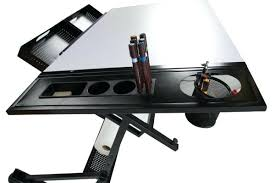 Drafting Table Storage Drawing Table With Storage Assembly For The And