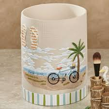 Beachy Bathroom Accessories by Bathroom Decor Beach Themed Bathroom Accessories Breathtaking