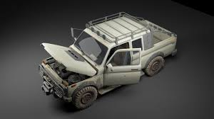 military jeep realtime military jeep suv 3d model 060 cgtrader