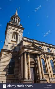 looking up the exterior of all saints church in oxford it now